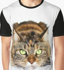 Cat Maine coon Graphic T-Shirt