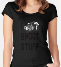 Lethal  Photographer  Women's Fitted Scoop T-Shirt