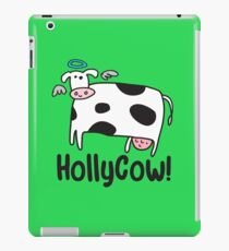 Holly Cow! iPad Case/Skin