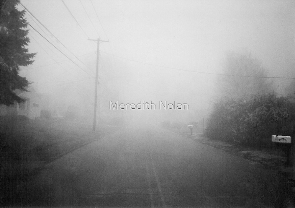 Foggy Street by Meredith Nolan