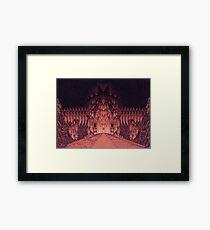 The Walls of Barad Dûr Framed Print