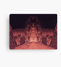 The Walls of Barad Dûr Canvas Print