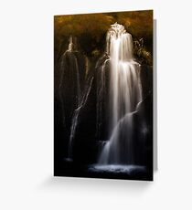 Lava Falls Greeting Card
