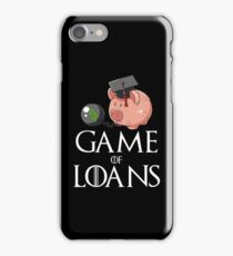 Game of Loans iPhone Case/Skin