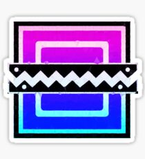80's Frost Icon Sticker