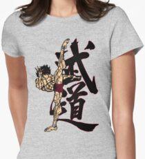 Grappler Baki  Women's Fitted T-Shirt