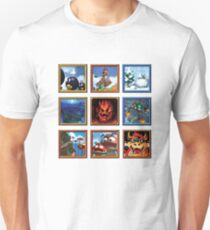 Super Mario 64 Paintings T-Shirt