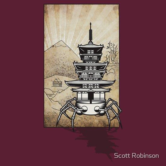 TShirtGifter presents: Pagoda-Walker Shadow07
