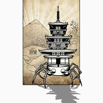Pagoda-Walker Shadow07 by Resisto