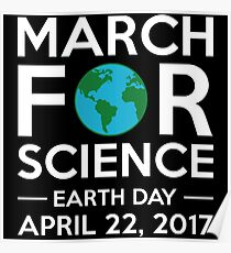March For Science - Earth Day 2017 Poster