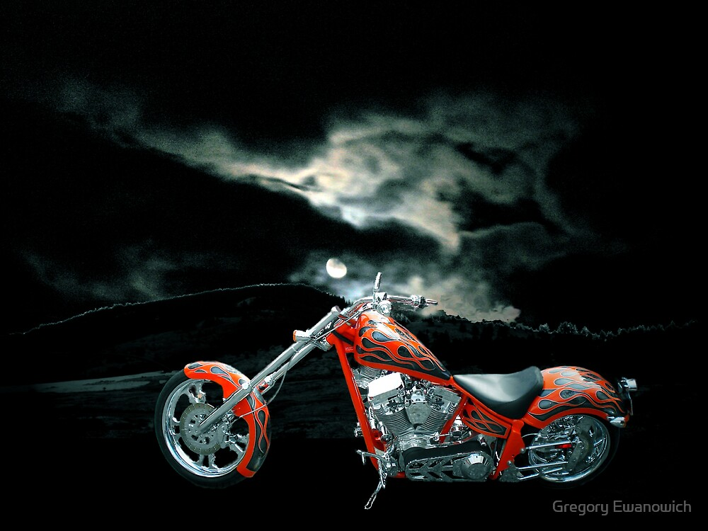 Moonlight Ride by Gregory Ewanowich