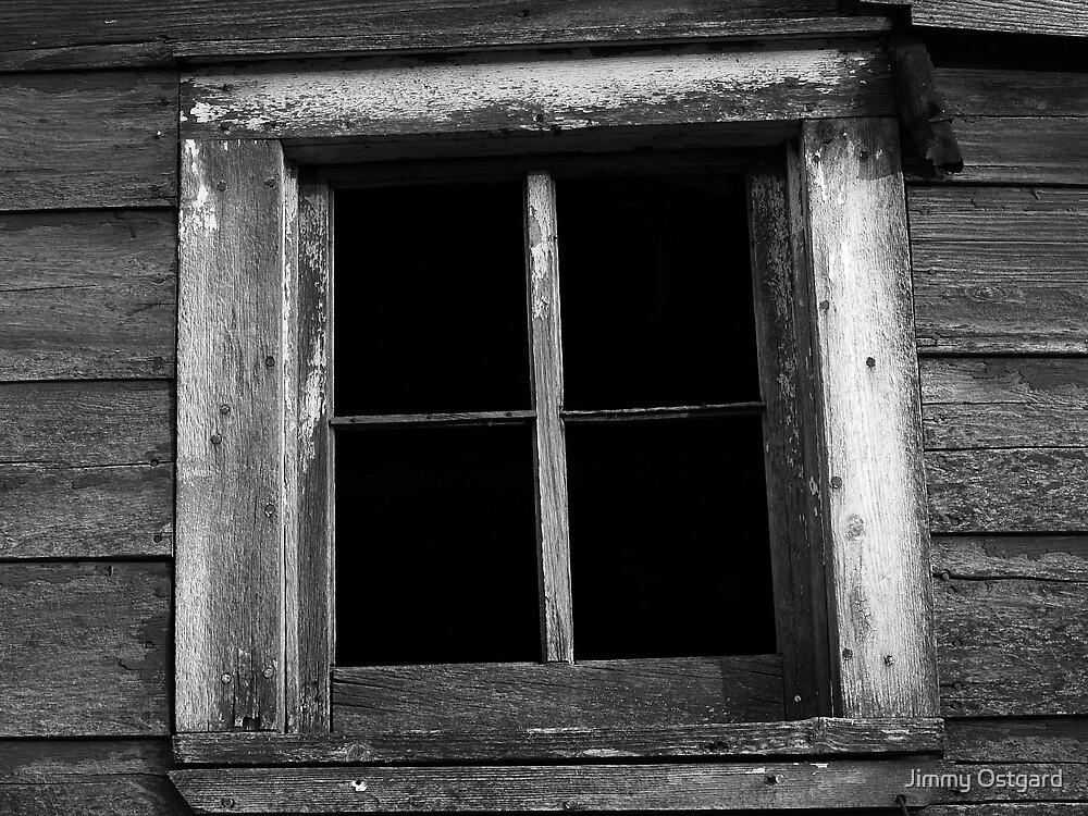 Barn Window by Jimmy Ostgard