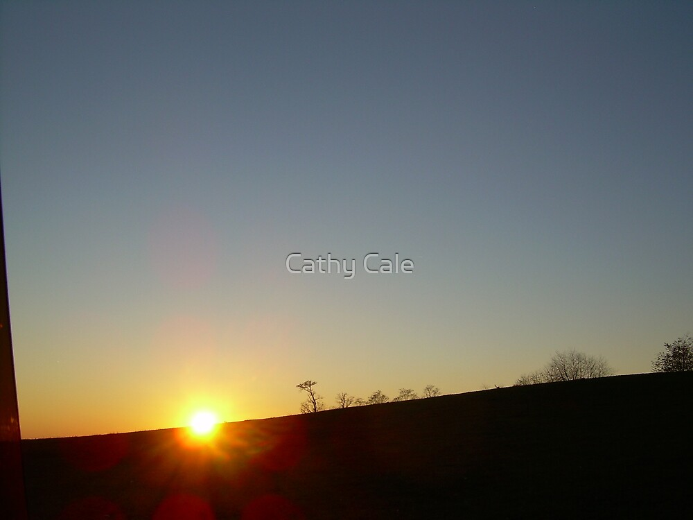 SUNSET by Cathy Cale