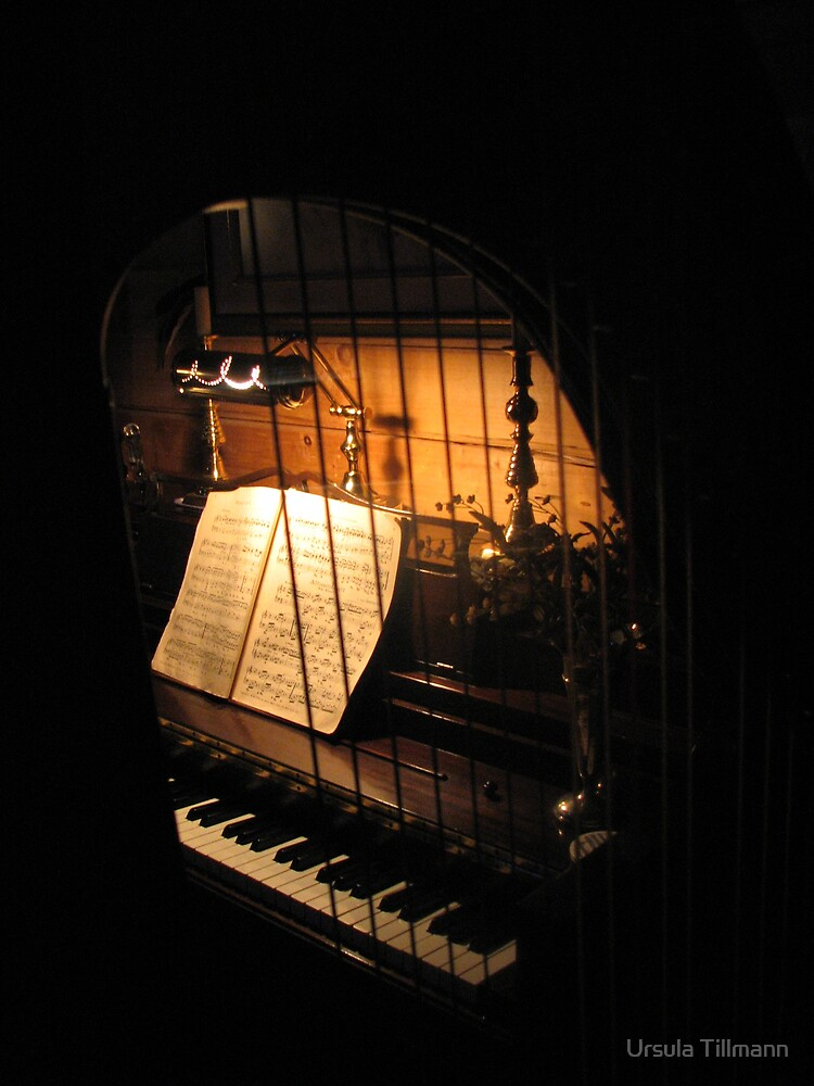 Window for a song by Ursula Tillmann