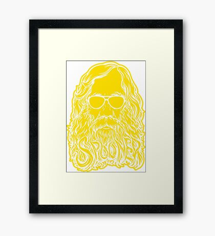 Lysander Spooner Too Cool Framed Print