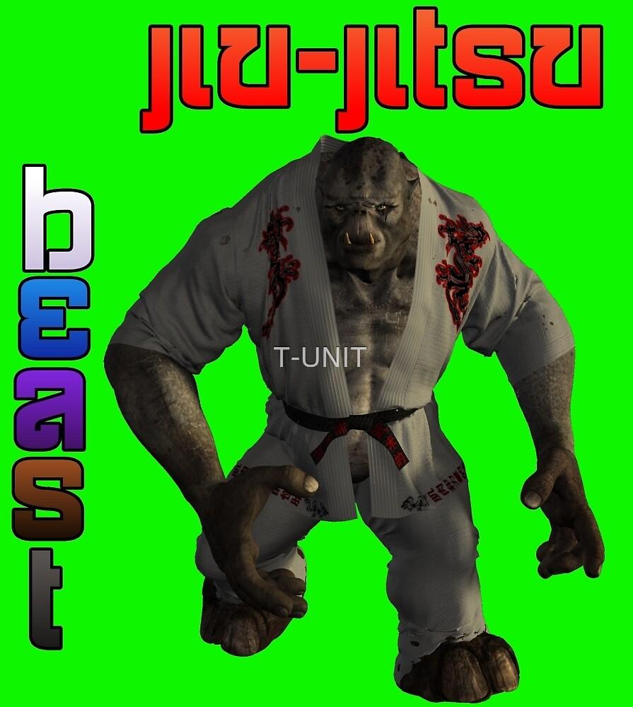 Jiu-Jitsu Beast Troll by T-UNIT