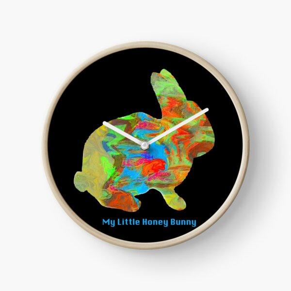 My Little Honey Bunny Clock