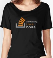 Overflowing like a boss Women's Relaxed Fit T-Shirt