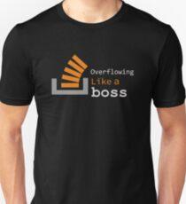 Overflowing like a boss Slim Fit T-Shirt