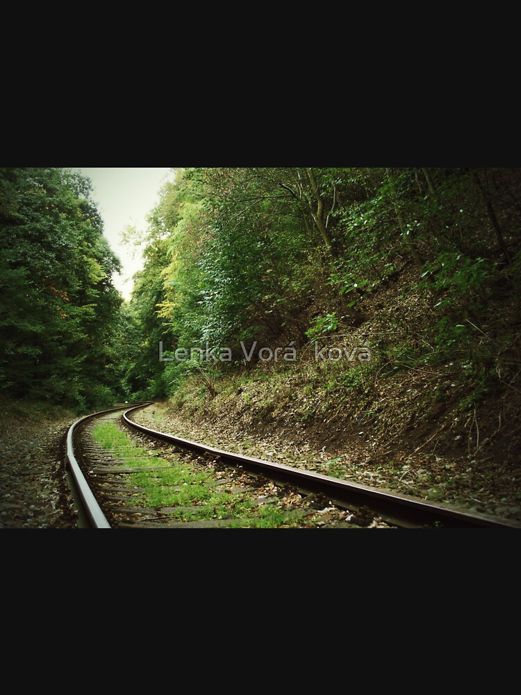 Railway in the forest by Trin4ever