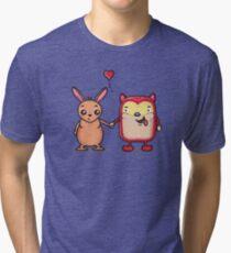 Retro Besties Tri-blend T-Shirt