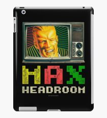 Max Headroom. Retro TV iPad Case/Skin