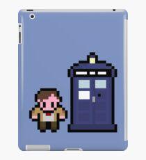 11th Doctor and the Tardis iPad Case/Skin