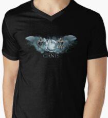 walk among giants Men's V-Neck T-Shirt