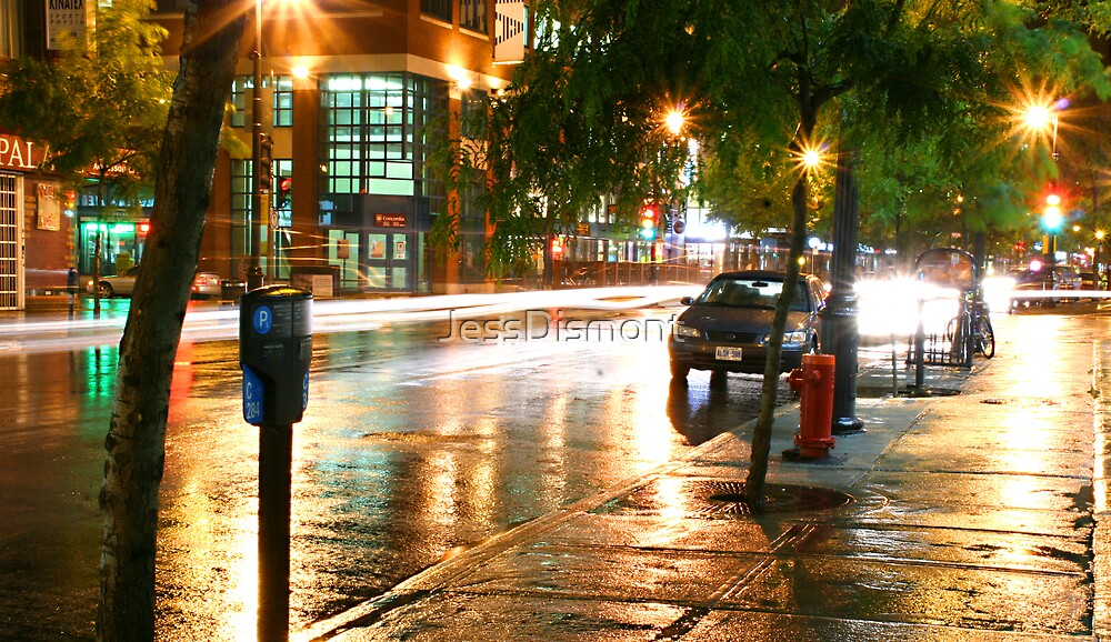 Fast. Wet.  (NO BORDER) by JessDismont