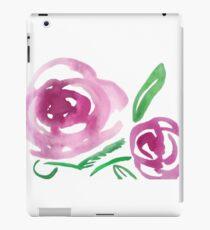 Floral Watercolour iPad Case/Skin