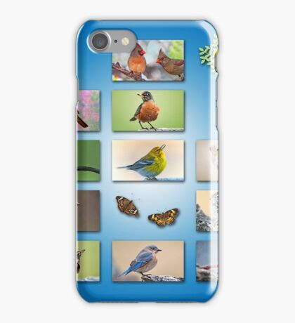 From our flock to yours . . . Merry Christmas! iPhone Case/Skin