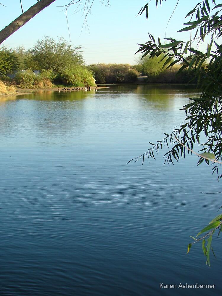 On The Pond by Karen Ashenberner