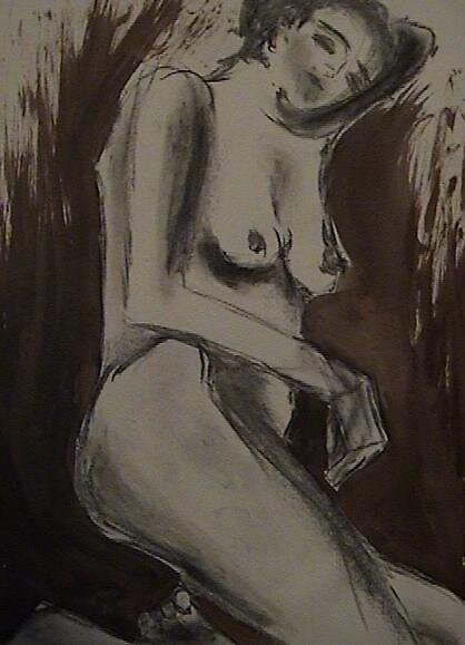 Reclining nude by Anastasia1