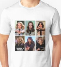 Charlies angels collage Unisex T-Shirt