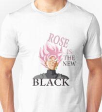 Rose is the new Black - Goku Unisex T-Shirt