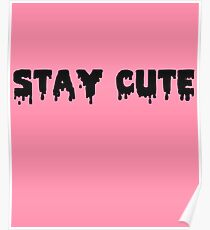Stay cute Poster