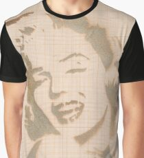 PEOPLE #graffiti #monroe Graphic T-Shirt