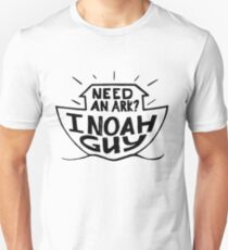 Need and Ark I Noah Guy Funny Christian Humor Unisex T-Shirt