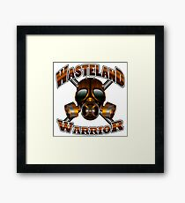 Wasteland Warrior Framed Print