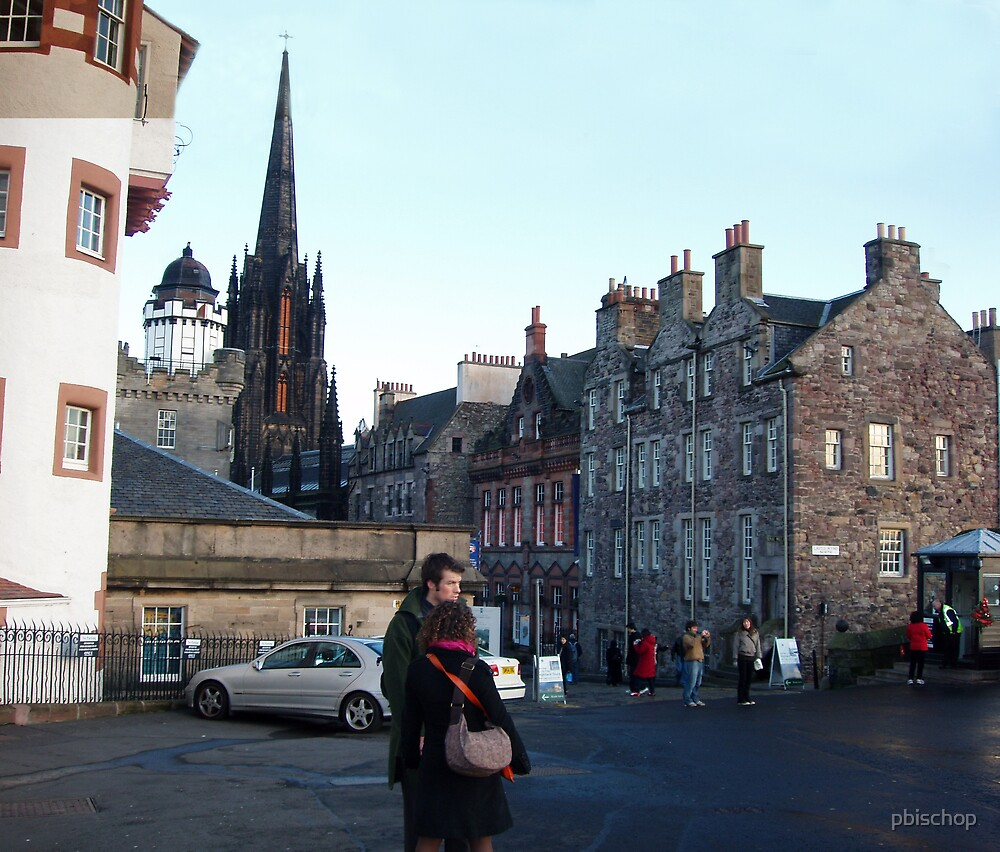 Edinburgh At the Start of the Royal Mile by pbischop