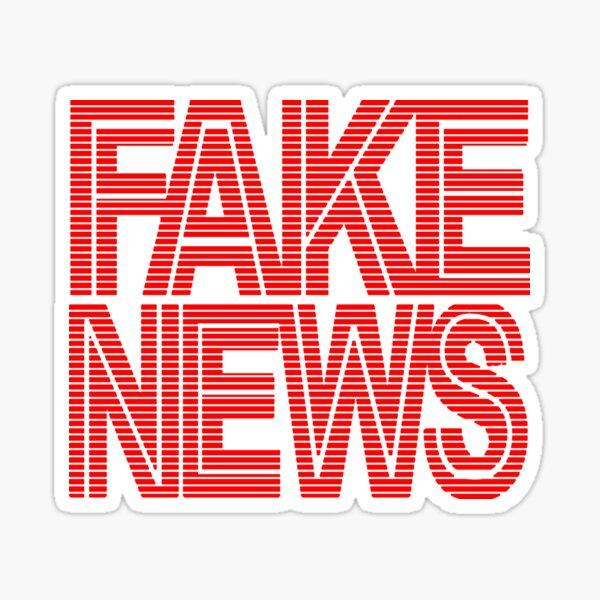 FAKE NEWS BROADCAST Sticker