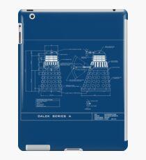 Exterminate Schematic iPad Case/Skin