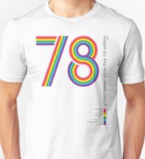 Pride Flag 1978: Gilbert Baker Tribute Unisex T-Shirt