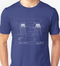 Exterminate Schematic Unisex T-Shirt