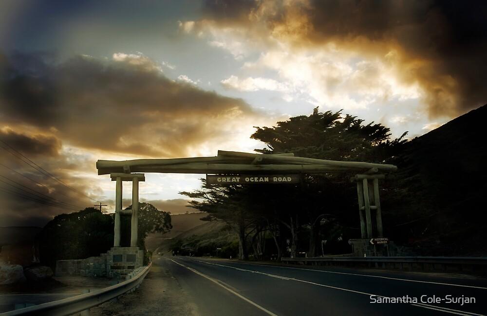 Great Ocean Road by Samantha Cole-Surjan