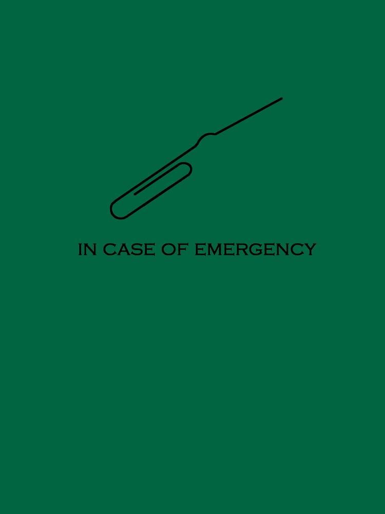 In case of emergency by Doan