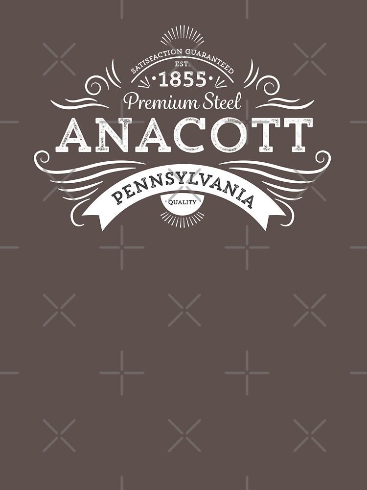Anacott Steel Logo by depresident