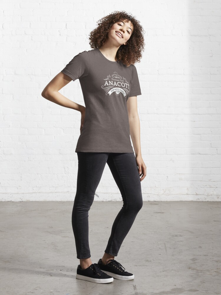 Alternate view of Anacott Steel Logo Essential T-Shirt