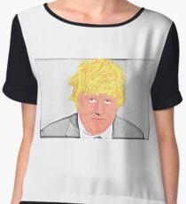 Boris Johnson MP Chiffon Top