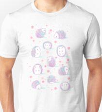 Spring Hedgehog Pattern Unisex T-Shirt